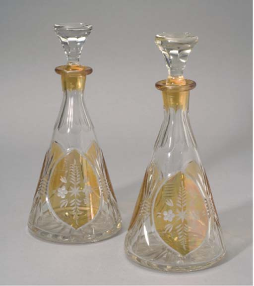 Party Glasses by Alfred Charles Weber (1862-1922, France)