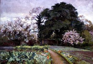 Alfred Parsons - A Kitchen Garden, Frome, Somerset