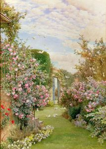 Alfred Parsons - China Roses, Broadway