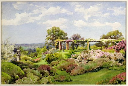 Nymans, Sussex by Alfred Parsons (1847-1920, Australia)