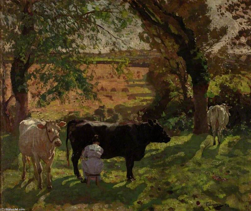 Freshness Of Morning by Algernon Talmage (1871-1939, United Kingdom) | ArtsDot.com