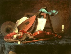 Anne Vallayer Coster - Attributes Of Music