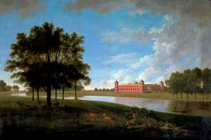 Anthony Devis - View Of Osterley Park From The..