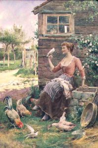 Arthur Augustus Ii Glende.. - The Farmer's Daughter