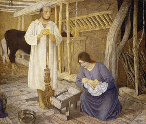 Arthur Joseph Gaskin - The Nativity