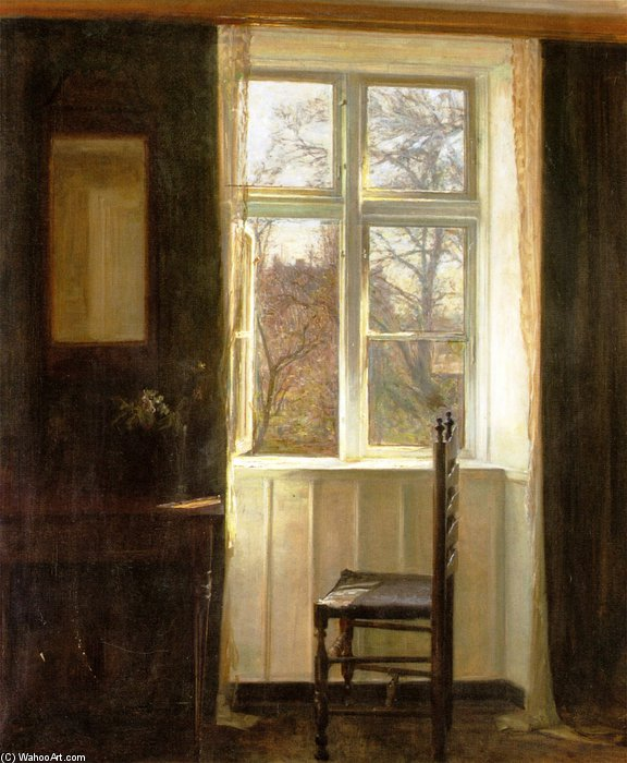Order Hand Painted Oil Painting Untiteled by Carl Vilhelm Holsoe (1863-1935, Denmark) | ArtsDot.com | Order Hand Made Painting Untiteled by Carl Vilhelm Holsoe (1863-1935, Denmark) | ArtsDot.com