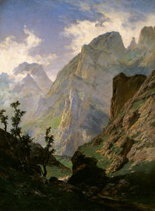 Carlos De Haes - Mountains In Europe