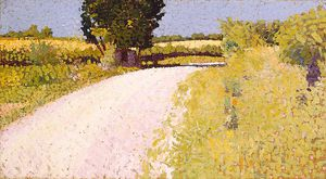 Charles Angrand - Path In The Country