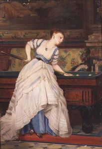 Charles Edouard Boutibonn.. - The Game Of Billiards