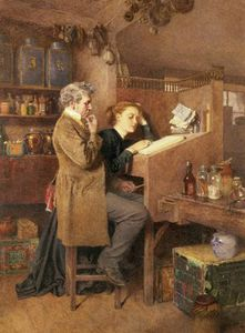 Charles Green - Grocer And Wife