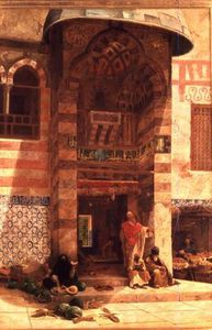 Charles Robertson - Outside The Mosque