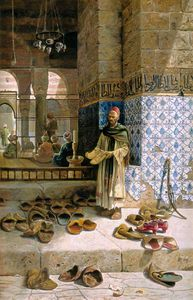 Charles Robertson - Shoes Of Religious Moslem..