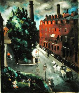 Christopher Wood - A Chelsea Square