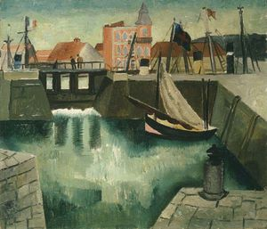 Christopher Wood - Harbour, Dieppe