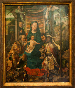 Colijn De Coter (Colyn Va.. - The Adoration Of The Magi..