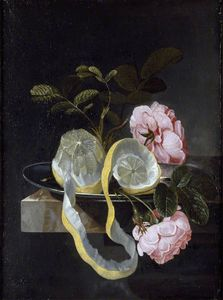 Cornelis Kick - Still Life With A Lemon A..