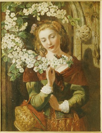 May by Daniel Maclise (1806-1870, Ireland)