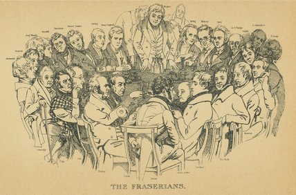 The Fraserians by Daniel Maclise (1806-1870, Ireland)