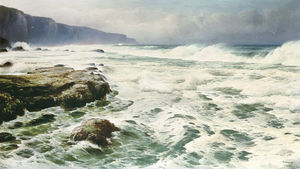 David James - Waves Breaking On A Rocky..