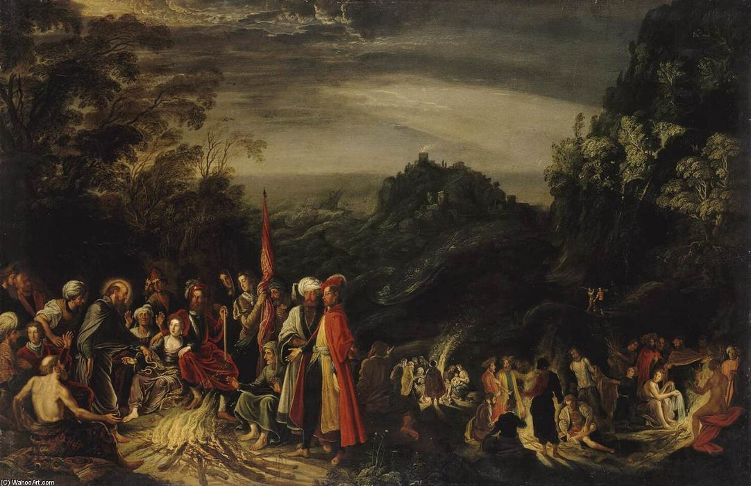 Miracle Of St Paul On The Island Of Malta by David Teniers The Elder (1582-1649, Belgium)