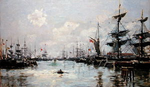 Edmond Marie Petitjean - The Port -