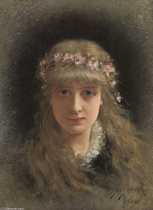 The Maiden Of Spring by Emile Eisman Semenowsky (1859-1911)