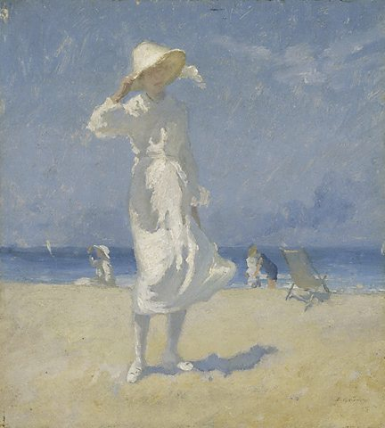 Afternoon, Bondi by Elioth Gruner (1882-1939, New Zealand)