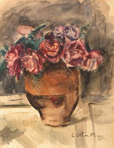 Emile Othon Friesz - A Still Life With Flowers..