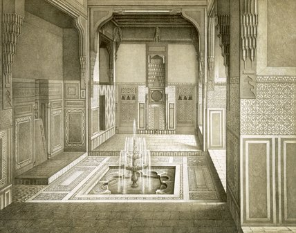 Eception Room, Ground Floor by Émile Prisse D'avennes (1807-1879, France) | Art Reproduction | ArtsDot.com