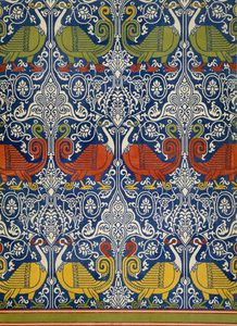 Émile Prisse D-avennes - Example Of Printed Egyptian Fabric