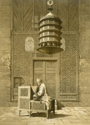 Funerary Or Sepuchral Mosque Of Sultan by Émile Prisse D'avennes (1807-1879, France) | Museum Art Reproductions | ArtsDot.com