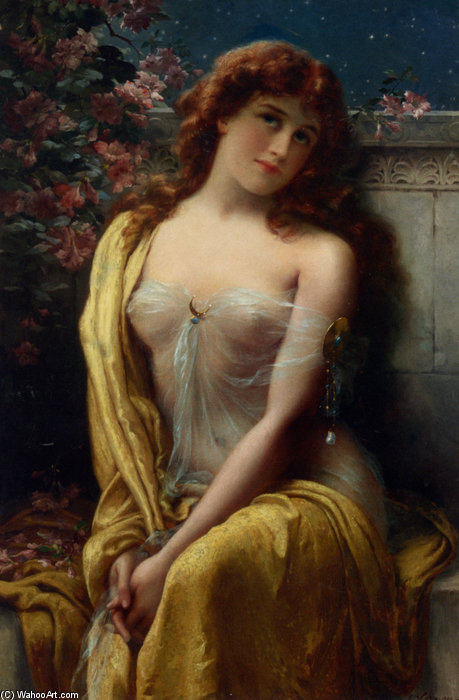 Starlight by Emile Vernon (1872-1920, France)