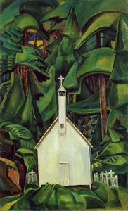 Emily Carr - Indian Church -