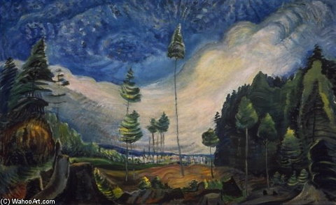 Logger's Cull by Emily Carr (1871-1945, Canada)