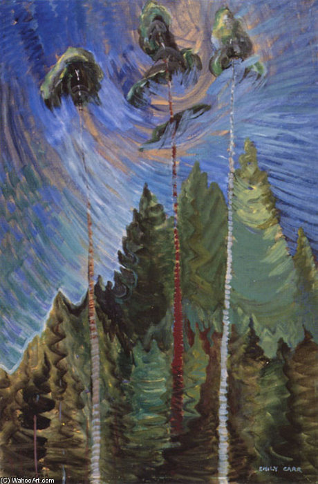 Odds And Ends by Emily Carr (1871-1945, Canada) | ArtsDot.com