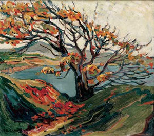 Emily Carr - Tree In Autumn