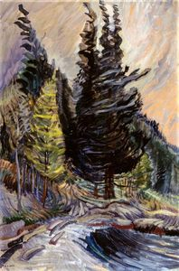 Emily Carr - Trees