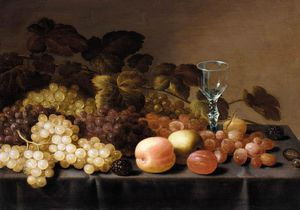 Floris Van Schooten - Still-life Of Fruit