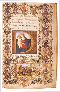Francesco Di Antonio Del .. - Prayer Book Of Lorenzo De..