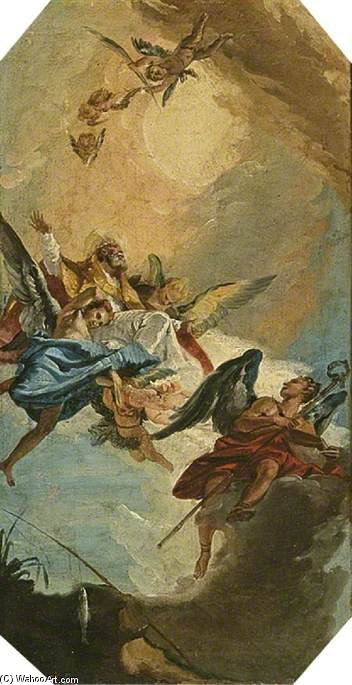 The Apotheosis Of St Zeno by Francesco Zugno (1708-1787, Italy) | Oil Painting | ArtsDot.com