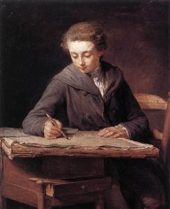 François Bernard Lépicié - The Young Draughtsman