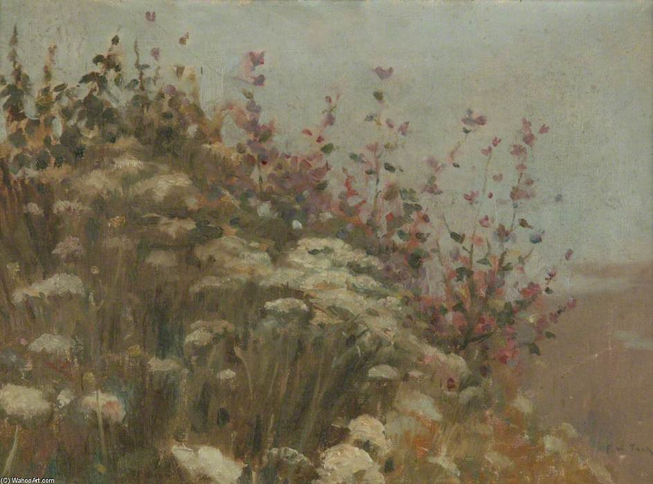 A Flowery Bank by Frederick William Jackson (1859-1918, United Kingdom)