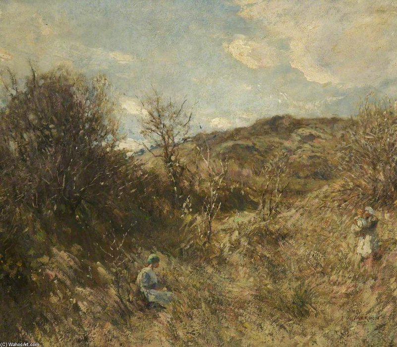 Early Spring by Frederick William Jackson (1843-1942, United States)