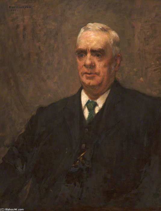 John Armitage, Headmaster Of Oldham Technical School by Frederick William Jackson (1859-1918, United Kingdom)