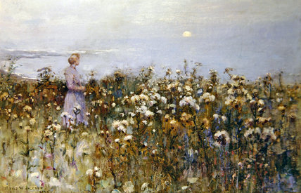 Summer Sun by Frederick William Jackson (1843-1942, United States)