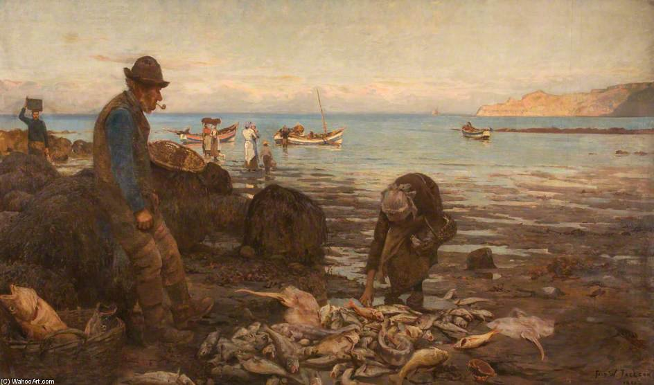 The Harvest Of The Sea by Frederick William Jackson (1859-1918, United Kingdom)