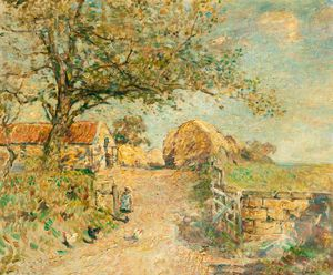 Frederick William Jackson - The Road To The Farm