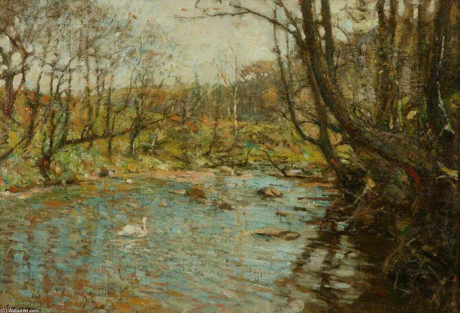 The Stream by Frederick William Jackson (1843-1942, United States)