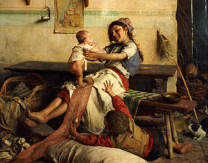 Gaetano Chierici - Playing With Baby