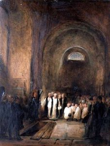 George Jones - Turner-s Burial In The Crypt Of St. Paul-s